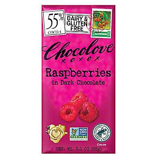 Chocolove Raspberries in Dark Chocolate,3.2 OZ