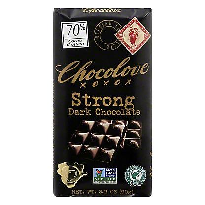 Chocolove Strong Dark Chocolate, 3.2 oz