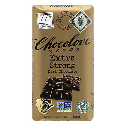 Chocolove Extra Strong Dark Chocolate, 3.2 oz