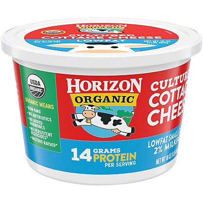 Horizon Organic Lowfat Organic Small Curd Cottage Cheese,16 OZ