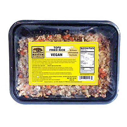 Banyan Tofu Fried Rice Vegan, 16 OZ