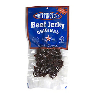 Whittington's Original Beef Jerkey,4 OZ