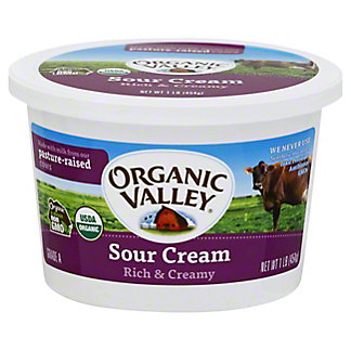 Organic Valley Organic Sour Cream,16 oz
