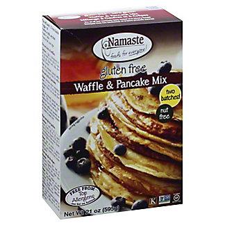 Namaste Foods Waffle & Pancake Mix,21 OZ