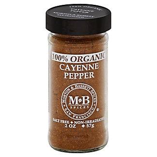 Morton & Bassett 100% Organic Cayenne Pepper,2.00 oz
