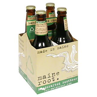 Maine Root Organic Root Beer 4 PK,12 OZ