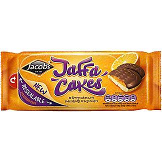 Jacobs Jaffa Cakes Scrummy Orange Centre Cakes, 10 ea
