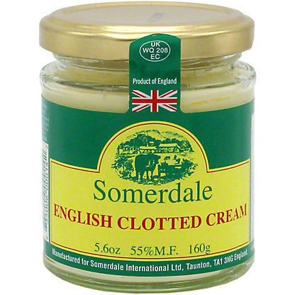 Somerdale English Clotted Cream 5 6 Oz Central Market