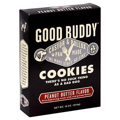 Castor & Pollux Dog Cookies Goodbuddy Peanut Butter,16 OZ