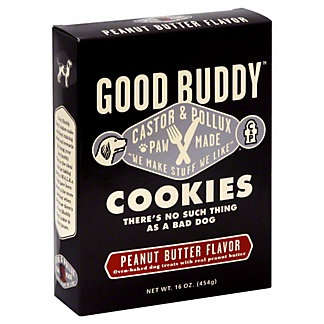 Castor & Pollux Dog Cookies Goodbuddy Peanut Butter,16 OZ