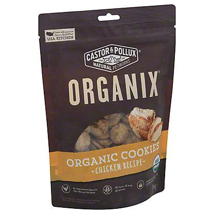 Castor & Pollux Organix Organic Dog Cookies, Chicken Flavor, 12 oz