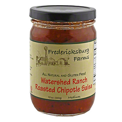 Fredericksburg Farms Watershed Ranch Roasted Chipotle Salsa,12 OZ