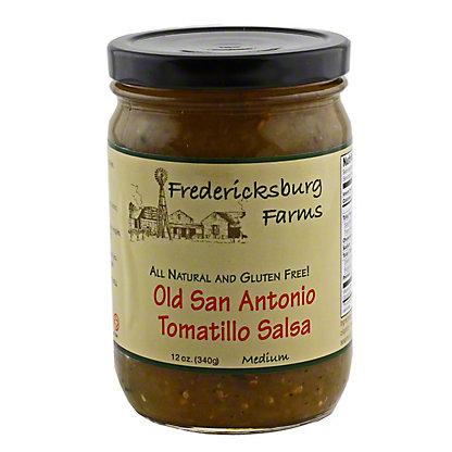 Fredericksburg Farms Old San Antonio Tomatillo Salsa,12 OZ