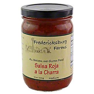 Fredericksburg Farms Salsa Roja de la Charra,12 OZ
