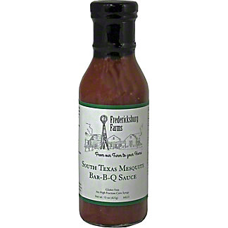 Fredericksburg Farms South Texas Mesquite BBQ Sauce, 15 oz