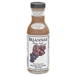 Brianna's Home Style Creamy Balsamic Dressing,12.00 oz