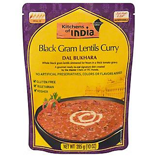 Kitchens of India Dal Bukhara Black Gram Lentils Curry, 10 oz