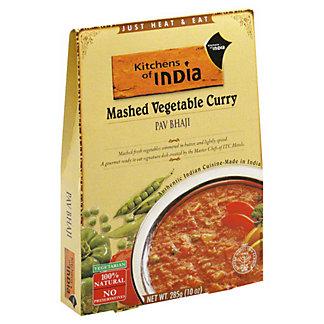 Kitchens of India Pav Bhaji Mashed Vegetable Curry, 10 oz