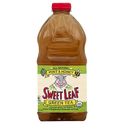 Sweet Leaf Mint & Honey Green Tea,64 oz