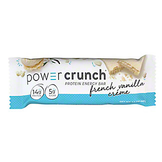 Power Crunch Original French Vanilla Creme Protein Energy Bar,1.4 oz