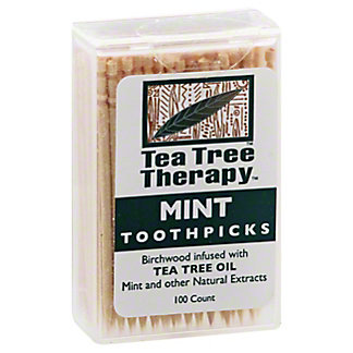 Tea Tree Therapy Therapy Toothpick, 100 ea