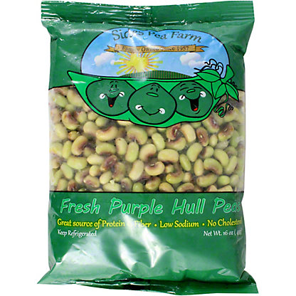 Fresh Shelled Purple Hull Peas, 16 OZ