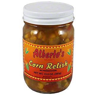 Albertos Corn Relish, 12.5OZ