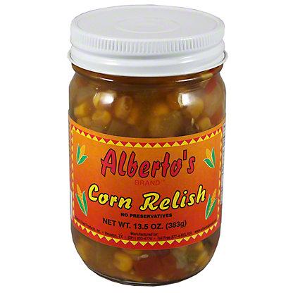 Alberto's Corn Relish, 13.5 oz