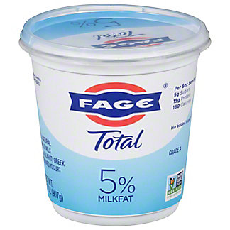 Fage Total Greek Strained Yogurt, 35.3 oz