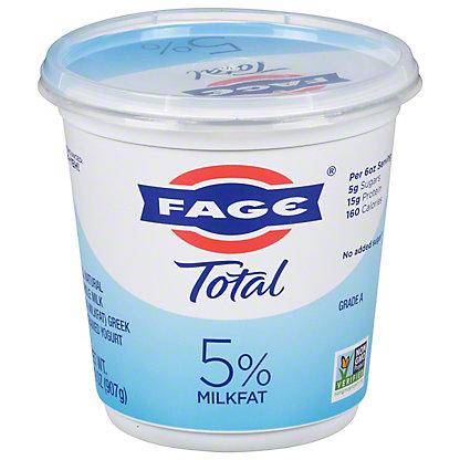 Fage Total Greek Strained Yogurt, 35.3 oz
