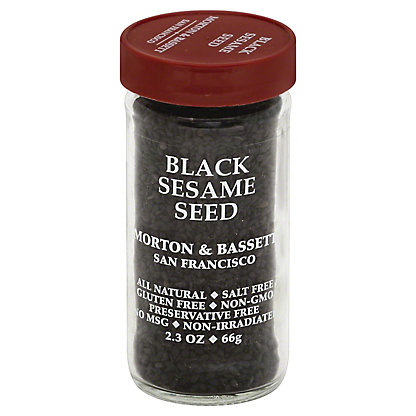 Morton & Bassett Sesame Seed, Black, 2.30 oz