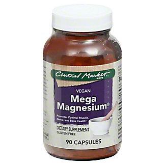 Central Market Mega Magnesium Vegan Capsules,90 CT
