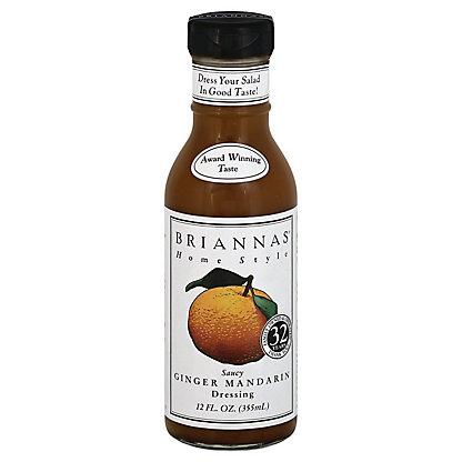 Brianna's Home Style  Saucy Ginger Mandarin Dressing, 12 oz