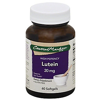 Central Market Lutein 20 mg Softgels,60 CT