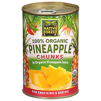 Native Forest Organic Pineapple Chunks,15 OZ