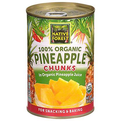 Native Forest Organic Pineapple Chunks,15 OZ