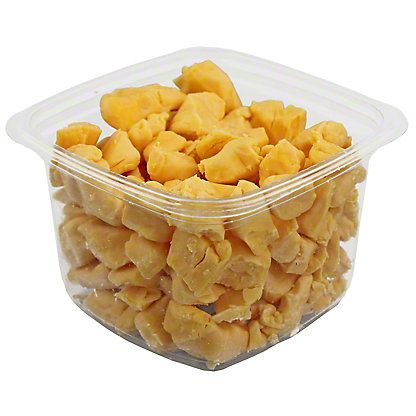 Henning's Wisconsin Cheese Yellow Cheddar Cheese Curds,20 LB