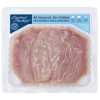 Central Market Grade A Chicken Breast Thin Sliced Cutlet