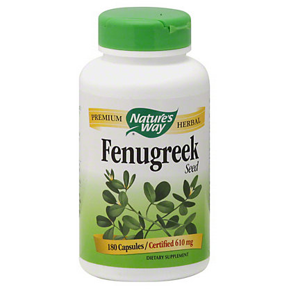 Natures Way Nature's Way Fenugreek Seed, 180.00 ea