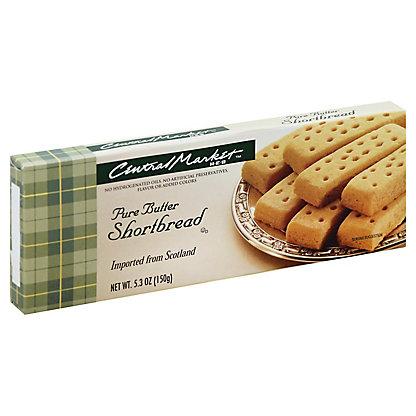 Central Market Pure Butter Shortbread, 5.3 oz