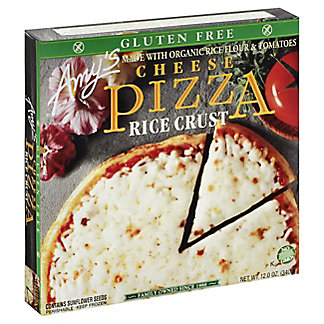 Amy's Rice Crust Cheese Pizza, 12 oz
