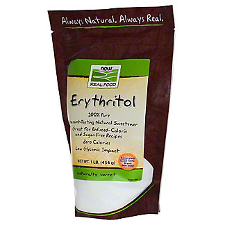 NOW Erythritol Instant Tasting Natural Sweetener Pure Powder,1 LB