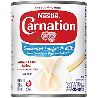 Nestle Carnation Evaporated Lowfat 2% Milk, 12 oz
