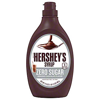Hershey's Sugar Free Chocolate Syrup, 17.5 oz