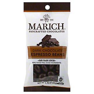Marich Dark Chocolate Espresso Beans, 1.76 oz