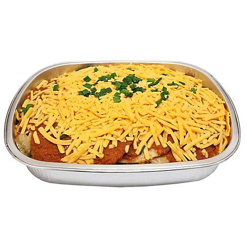 Central Market Stacked Beef Enchiladas