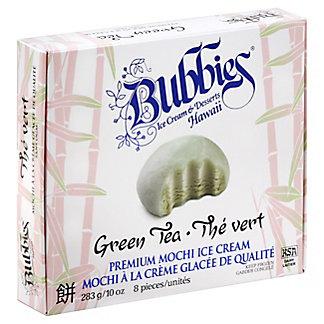 Bubbies Premium Mochi Green Tea Ice Cream,8 CT