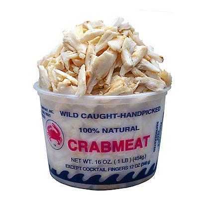Fresh Lump Crab Meat, 16 oz