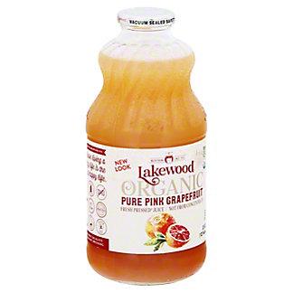 Lakewood Organic Pink Grapefruit Juice,32 OZ