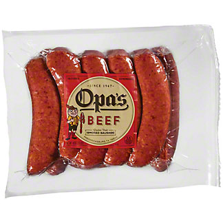 Opa's Beef Smoked Sausage Value Pack